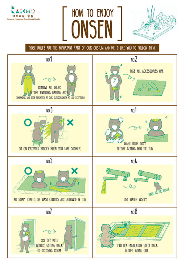 How to enjoy onsen